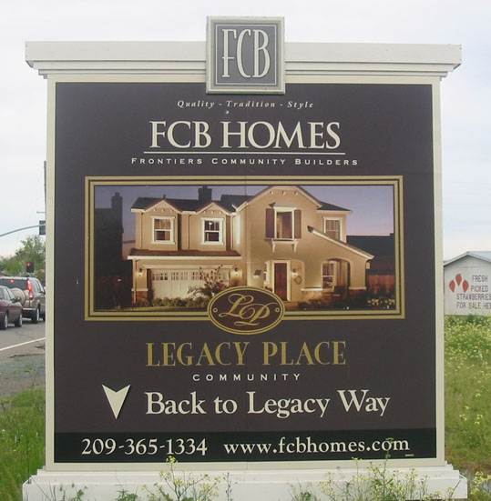Real estate signs signco our signage products for House sign designs